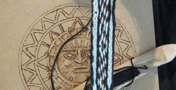 tablet-woven band 1 - back by Aranglinn