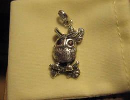 Silver Owl by Aranglinn