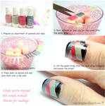 Weaved Nails Tutorial