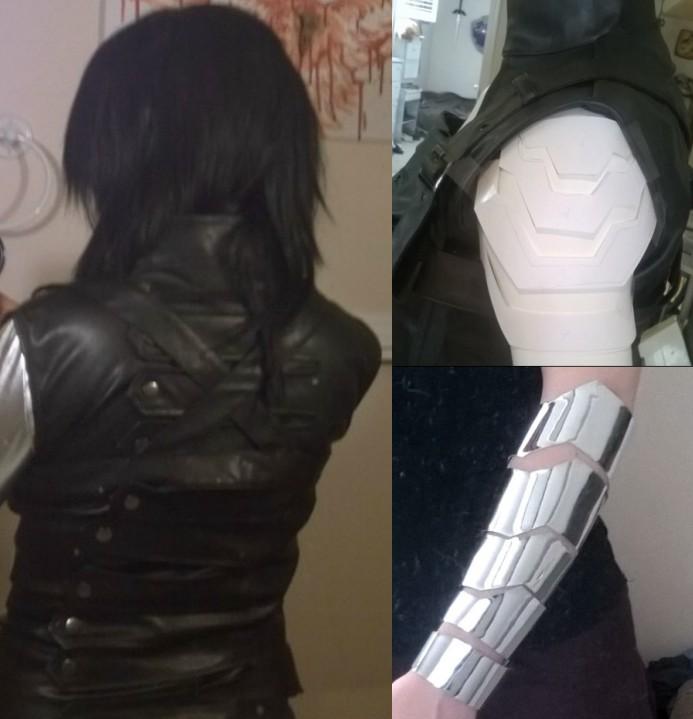 In Progress - Winter Soldier Cosplay by LadyFenrirUnchained