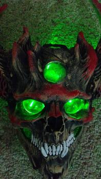 Hive Mask - Up Close