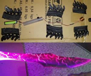 Custom Dark Saber - Process