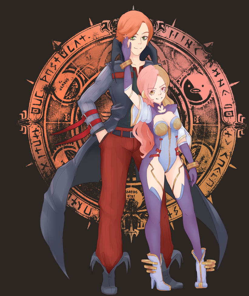 Shadow Hearts Neo And Roman By Koudellka On DeviantArt