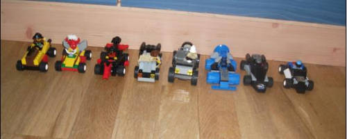 Lego Racers Cars by TheEvstar