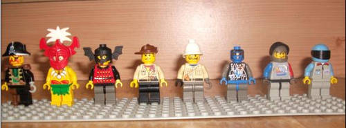 LEGO Racers Drivers by TheEvstar