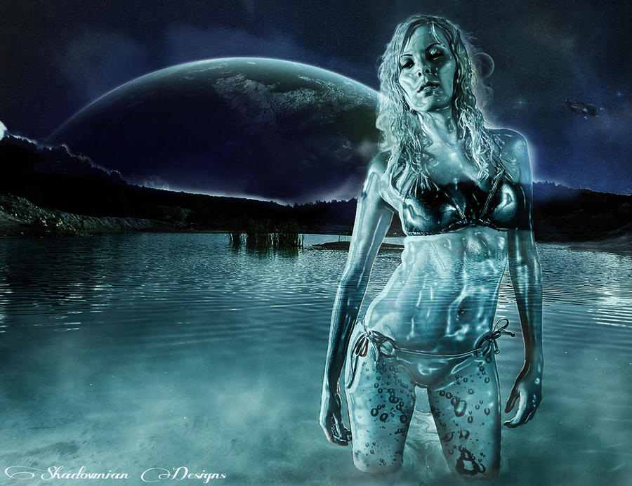 Photoshop Water Woman Effect by shadownian on DeviantArt