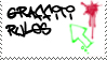 Graffiti Love Stamp by oBsCeNe-EmO-qUeEn