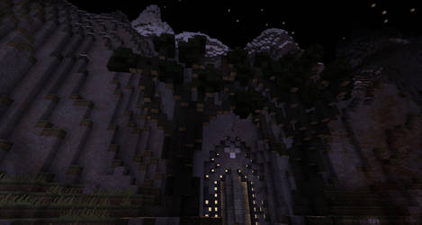 Entrance to the Ruins...
