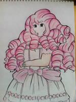 Rose quartz by actual-gudetama