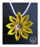 Sunflower Pendant by Arleen