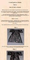 Kimono Folding Tutorial