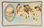 Cute Bullfinch Quartet by Yesterdays-Paper
