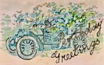 Birthday Flowermobile