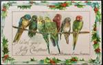 Christmas Parakeets