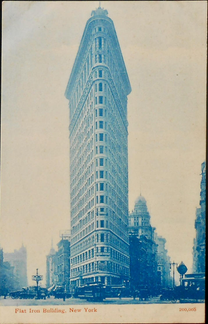 The Flatiron Building, New York City by Yesterdays-Paper