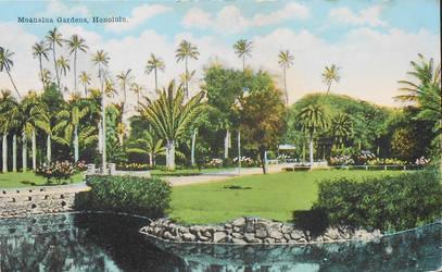 Honolulu HI - Moanalua Gardens by Yesterdays-Paper