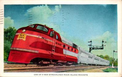 Rock Island Rocket by Yesterdays-Paper
