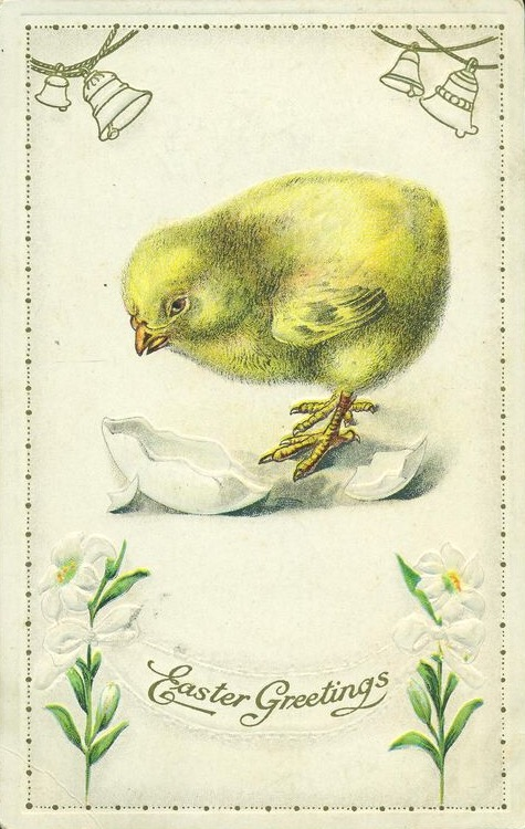 Easter Hatchling by Yesterdays-Paper