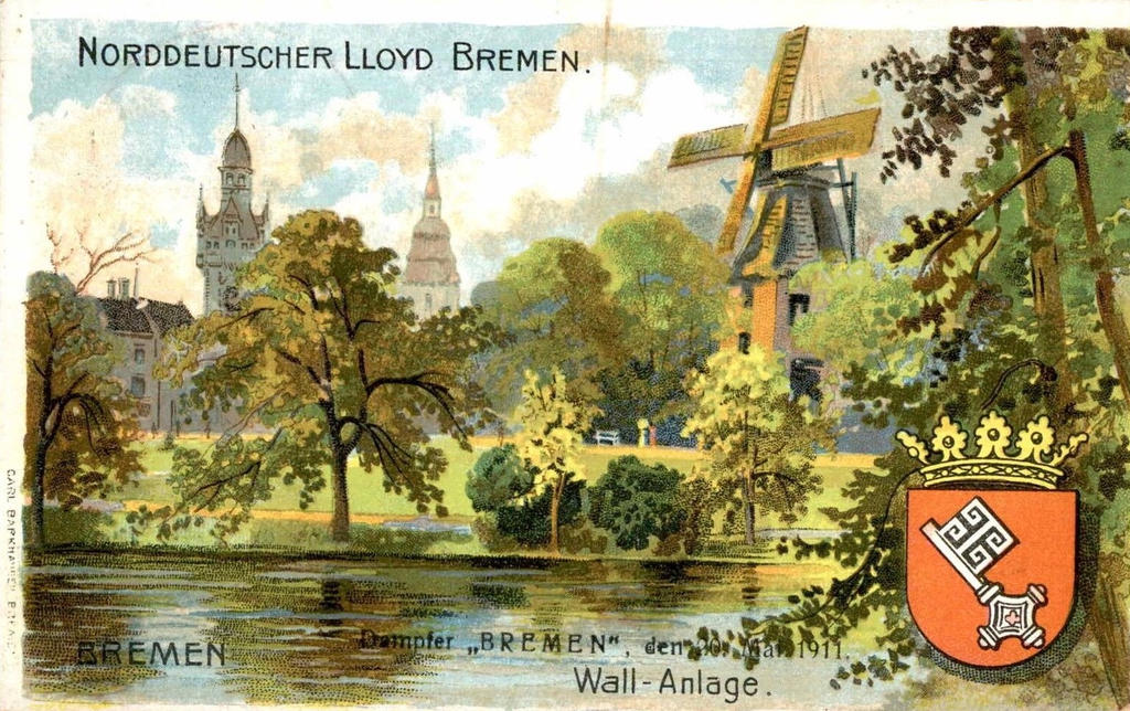 Vintage European Postcards - Bremen, Germany (NDL) by Yesterdays ...