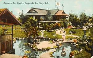 Vintage California - Japanese Tea Garden by Yesterdays-Paper