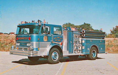 Blue Fire Truck - Meshanticut V.F.D.