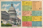 Busy Person's Correspondence Card - Washington DC