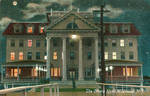 Night Scene Postcards - Ottens Hotel, Wildwood NJ