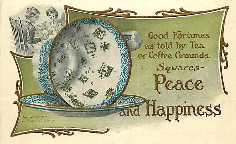 Fortune Telling Tea Cup by Yesterdays-Paper