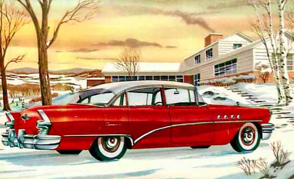 1955 Buick Super Riviera Sedan