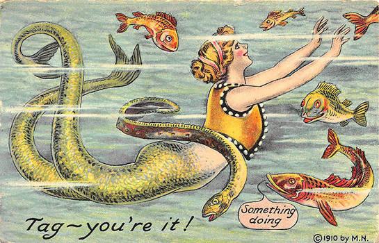 Mermaid Games- Tag, You're It!