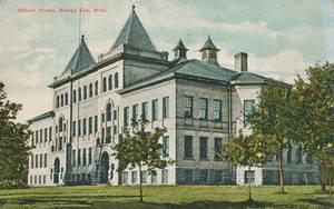 Vintage Minnesota - The Arson of Sleepy Eye School by Yesterdays-Paper