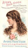 Victorian Advertising - Hair Vigor