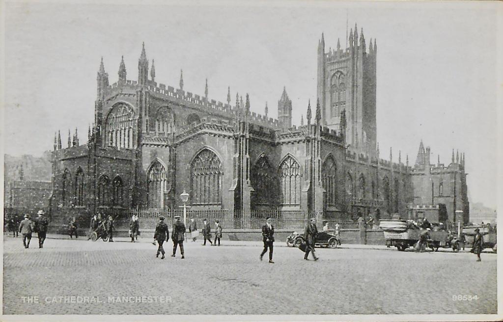 Vintage UK - Manchester Cathedral