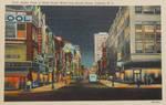 Night Scene Postcards - Trenton, NJ