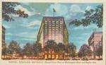 Vintage Detroit - Hotel Statler by Night