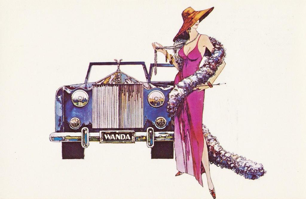 Super 70's - Wonderful Wanda's by Yesterdays-Paper