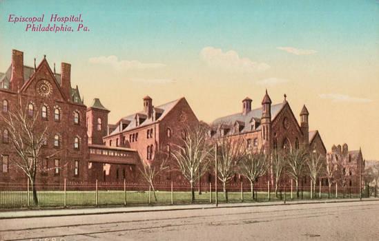 Vintage Philadelphia - Episcopal Hospital