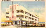 Vintage Miami - The Ocean At Your Door Step