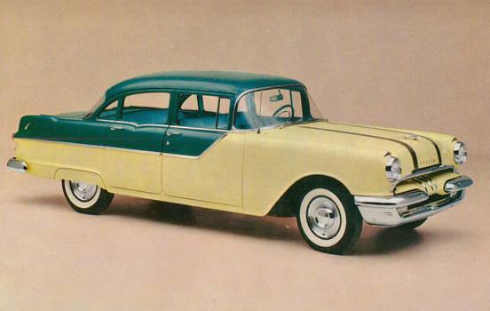 1955 Pontiac 870 Four Door Sedan