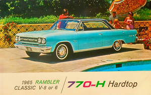 1965 Rambler Classic by Yesterdays-Paper