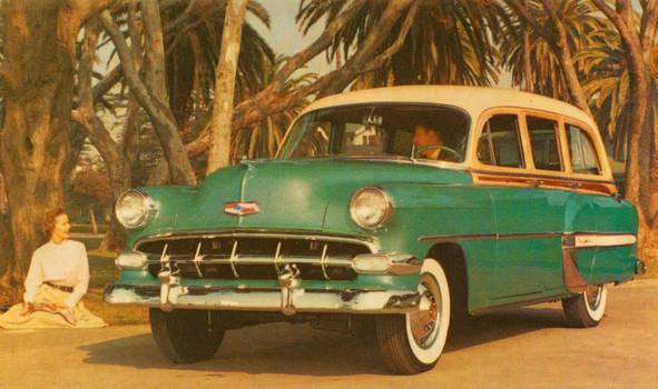 1954 Chevy Bel Air Townsman