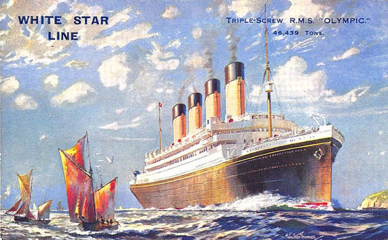 White Star Line T.S. RMS Olympic