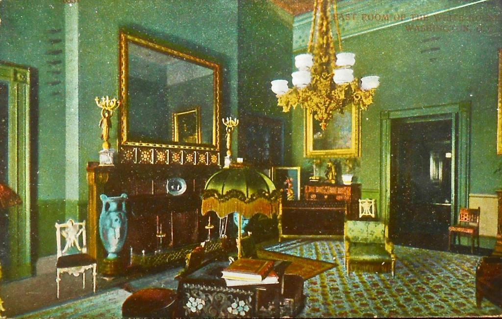 Vintage Washington DC - East Room, The White House
