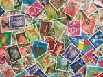 Vintage Japanese Postage Stamps