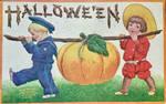 Pumpkin Picking by Yesterdays-Paper