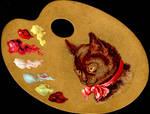 Victorian Advertising - Artsy Cat
