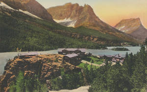Vintage Montana - Going-To-The-Sun Mountain Lodges by Yesterdays-Paper