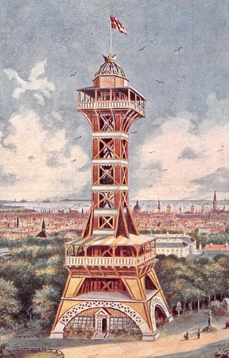 Vintage Europe Copenhagen Zoo Tower By Yesterdays Paper On Deviantart