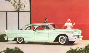 Oldsmobile Super 88 Holiday Sedan by Yesterdays-Paper