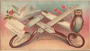 Victorian Advertising - Scissors and Shears